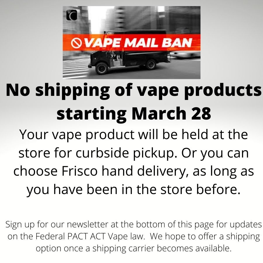 Pact Act Vape Law